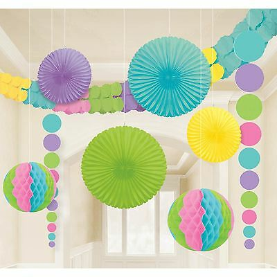 Birthday Party Celebration Room Decoration Kit Hanging
