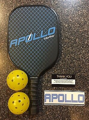 Graphite & Carbon Fiber Pickleball Paddle (NEW)