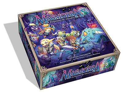 *Masmorra: Dungeons of Arcadia - New (Board Games, CMON, Arcadia Quest)*