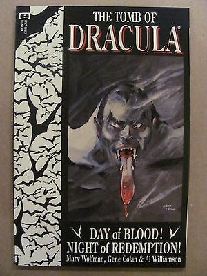 Tomb of Dracula #1 2 3 4 Epic Marvel Full 1991 Series Deluxe 52pgs 9.4 Near Mint