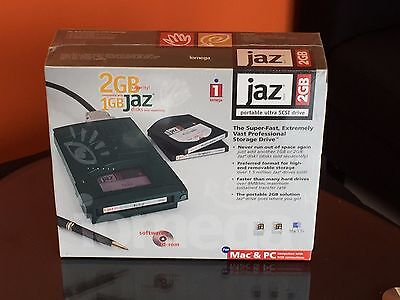 2GB jaz portable ultra SCSI drive for Mac & PC