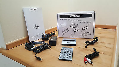 New Bose Wave Music System Dock for iphone & ipod - Titanium finish (30 pin)