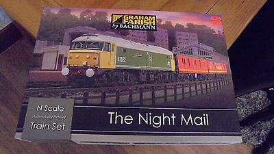 370-130 Graham Farish Bachmann The Night Mail Train Model Train Set N Gauge New