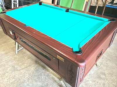 7 x 4 ft Slate Bed Pool Table - classic style - SLATE BED - pub pool table