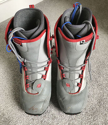 Vans Mens Performance Grey Snowboard Boots size 10 UK, 11US