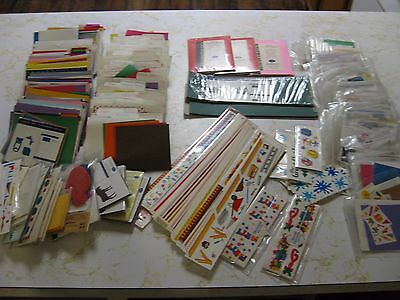 Creative Memories Lot of Scrapbooking Supplies Die Cut Decorative Shapes 10lbs