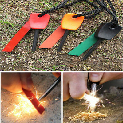 Mini Magnesium Flint Fire Starter For Outdoor Scouts Camping Survivial Tool kit