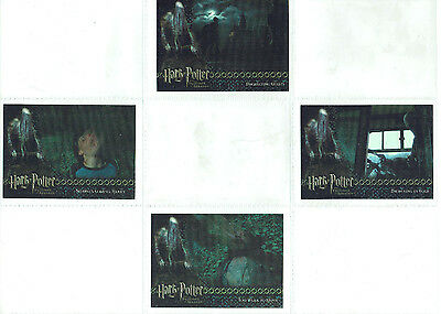 Harry Potter and the Prisoner of Azkaban Update Box Topper Chase Set BT1 to BT4