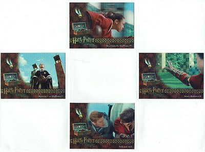 Harry Potter Sorcerer's Stone Box Topper 4 Card Chase Insert Set BT1 to BT4