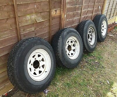 land rover tyres and wheels 7.50 x 16 series