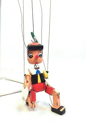 Disney puppet toy collector vintage Pinocchio puppet