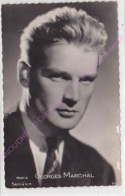 CPSM RPPC STAR GEORGES MARCHAL PHOTO SAM LEVIN  Edt KORES 375
