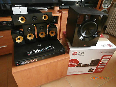LG BH7240B 3D Blu-ray/DVD Home Cinema System 1200w en embalaje original