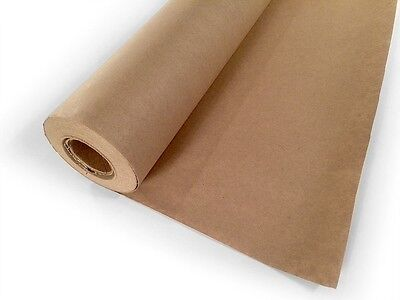 """Paper Kraft Jumbo Roll - 30"""" x 1200"""" 100ft Wrap Brown Craft Butcher Packing Mail"""