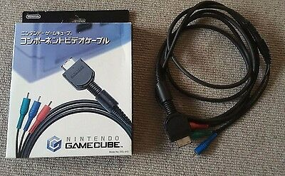 Official Nintendo Gamecube Component Cable DOL-010
