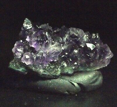 Amethyst crystal cluster geode,40x25x16mm,85.05ct,.60oz,AM-C30,earth grown