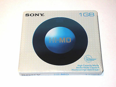 One (1) Minidisc SONY Hi-MD 1Gb '2006 (new and sealed) EUR