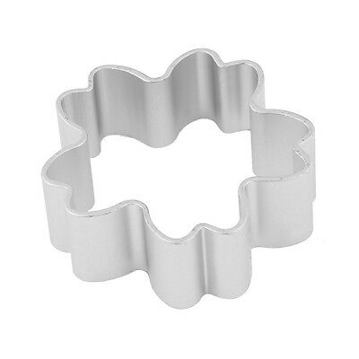 DIY Cookie Biscuit Cherry Blossom Shaped Silver Tone Metal Cutter Mold Mould FK