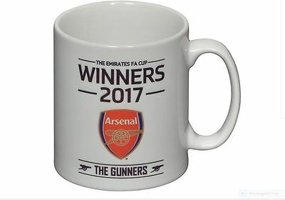 Arsenal  2017 Coloured Official Fa Cup Winners Brand New Mug