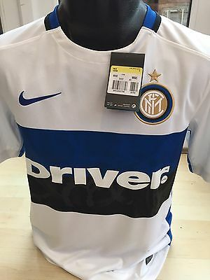 Inter Milan Away Shirt Nike Size 13-15yrs Youths FC Internazionale Italy New