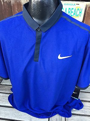 Roger Federer Tennis Advantage Polo Shirt T-Shirt by Nike Size Small Brand New