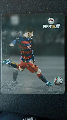 Fifa 16 PS4 Steelbook *NO GAME* Collector's Limited Editon EA Sports