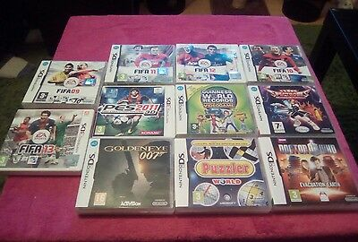 11 nintendo DS  games and 3DS games mixed job lot.