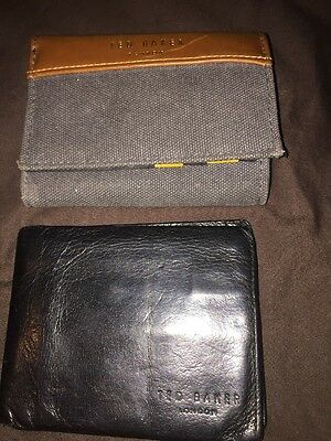 2X Ted Baker Wallets Mens