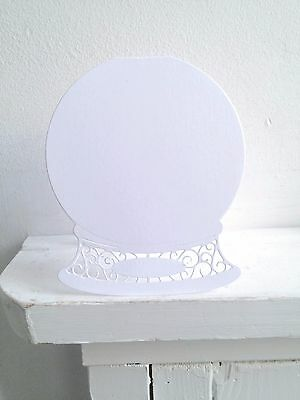Tattered Lace Snowglobe Card Blanks with Envelopes