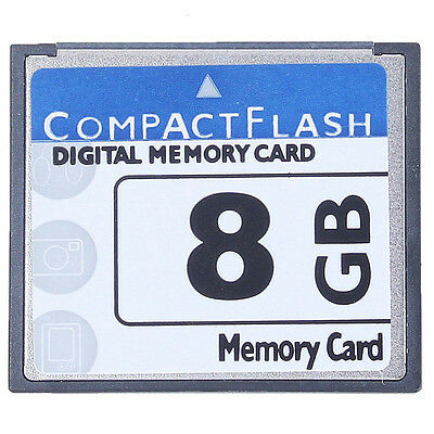 Professional 8GB Compact Flash Memory Card(White&Blue) D6Y5
