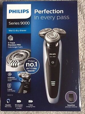 Philips series 9000 Men's Wet / Dry shaver razor S9211/12, Brand New