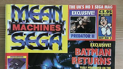 Pre owned - Mean Machines Sega Magazine issue 1 complete with video Rare