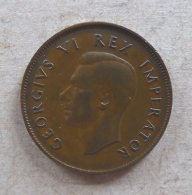 1942 South Africa Penny.