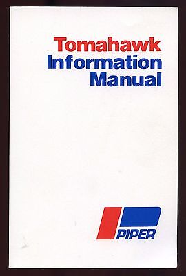 Piper Pa-38-112 Tomahawk Information Manual