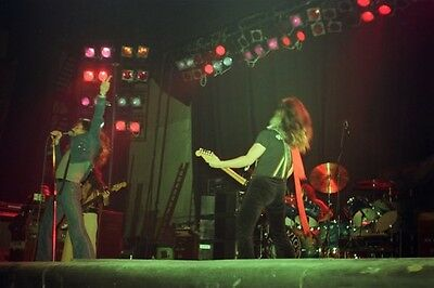 "12""*18"" colour concert photo of Deep Purple MKIV playing at Liverpool in 1976"
