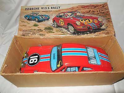 asc japan porsche 912s rally battery operated