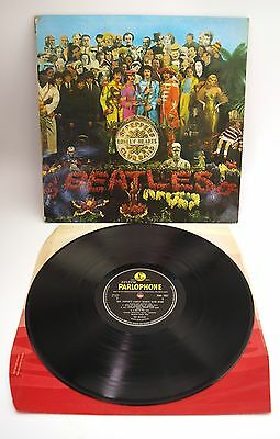 Beatles Sgt Peppers Lonely Hearts Club Band LP Vinyl - Mono 1st Issue