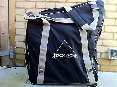 Brompton B Bag Folding Bike Transportation Storage Carry Case - Free Uk Postage