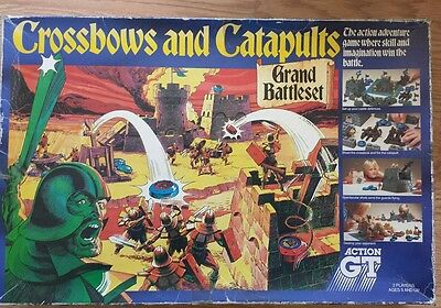 Vintage Acton GT Crossbow And Catapults Game