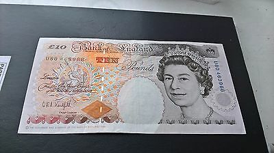 Bank Of England £10 Ten Pounds - Kentfield - U80 463966