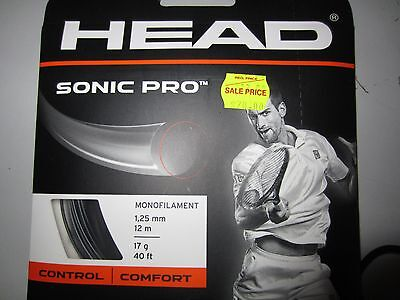 Head Sonic Pro Tennis String 17 Gauge