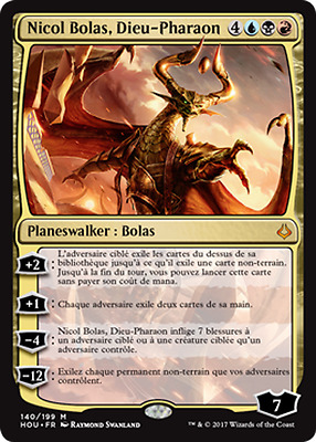 Nicol Bolas, God-Pharaoh / Nicol Bolas, Dieu-Pharaon Hour of Devastation Préco