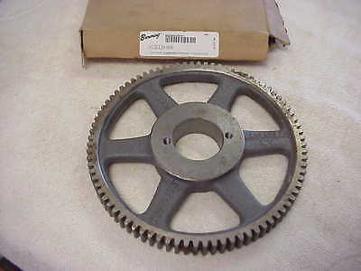 Browning NCS12H84 Cast Iron Spur Gear w/ Split Taper Bushing, 84 Teeth