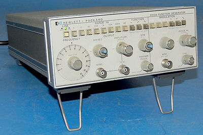 HP 3312A Agilent Wave Function Generator AM/FM Sweep 0.1-13 MHz / Warranty
