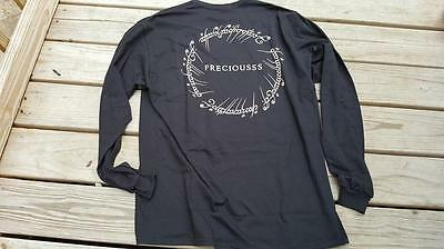 "EXCLUSIVE Loot Crate Lord of the Rings ""Preciousss"" Long Sleeve Shirt, XL, NEW!"
