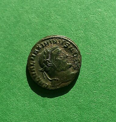 Authentic Roman bronze coin of Maximinus