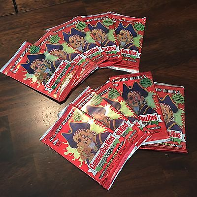 Garbage Pail Kids ANS All New Series 2 - Lot of 10 Unopened Packs ANS2