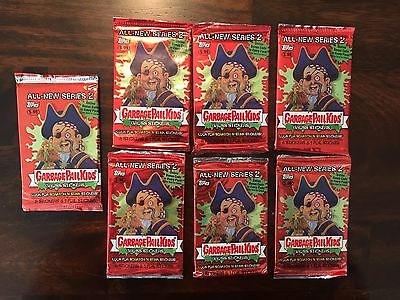 Garbage Pail Kids 2004 ANS All New Series 2 - Lot of 7 Unopened Packs ANS2