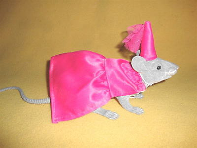 Sparkly Pink Medieval Lady Costume Rat from Petrats