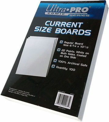 Ultra Pro Current Size Boards 100 Per Packet
